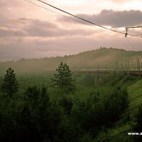 Russland - Transsibirische Eisenbahn Sibirien
