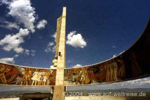 Aussichtsplattform in Ulan Bator Mongolei