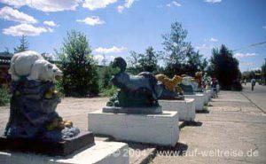 Kinderpark in Ulan Bator