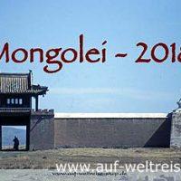 Wandkalender - Mongolei 2018