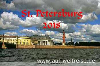 Wandkalender - Russland 2018 - Sankt Petersburg – Russland - Venedig des Ostens