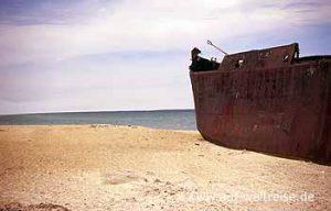 Schiffsfrack am Aralsee