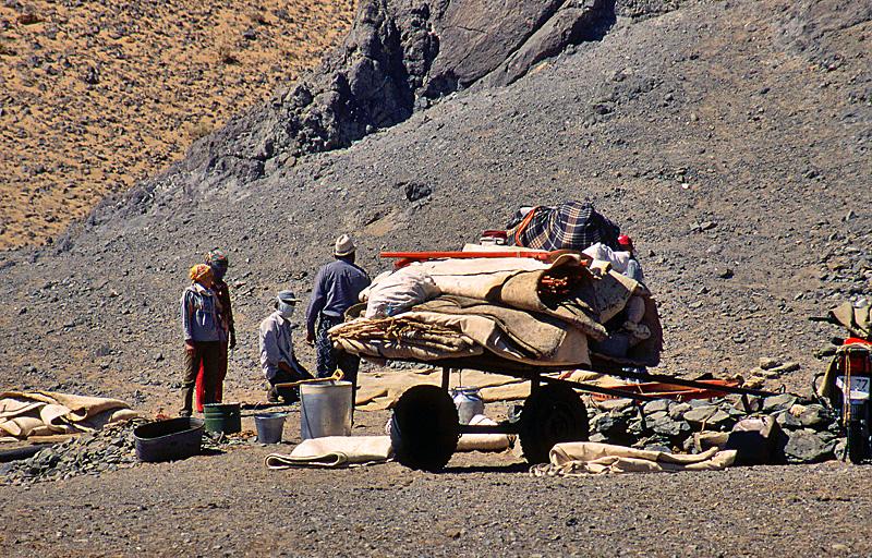 Usbekistan - Kamelzüchter am Aralsee