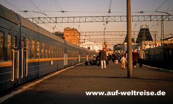 Russland - Transsibirische Eisenbahn Sibirien Moskau