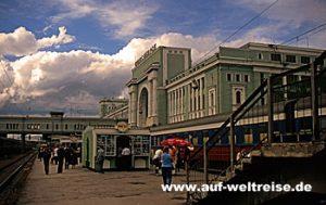 Russland - Transsibirische Eisenbahn - Nowosibirsk