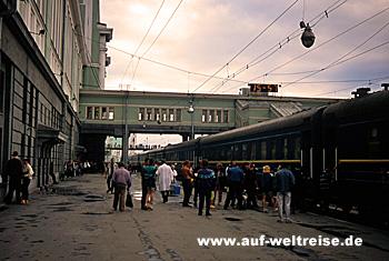 Nowosibirsk - Russland - Transsibirische Eisenbahn