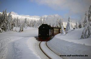 Harz Brockenbahn Deutschland