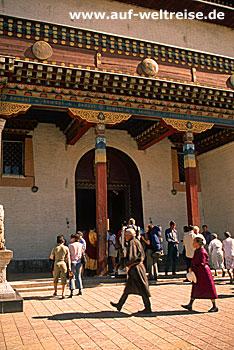 Gandan Kloster in Ulan Bator (Ulaanbaatar) - Mongolei