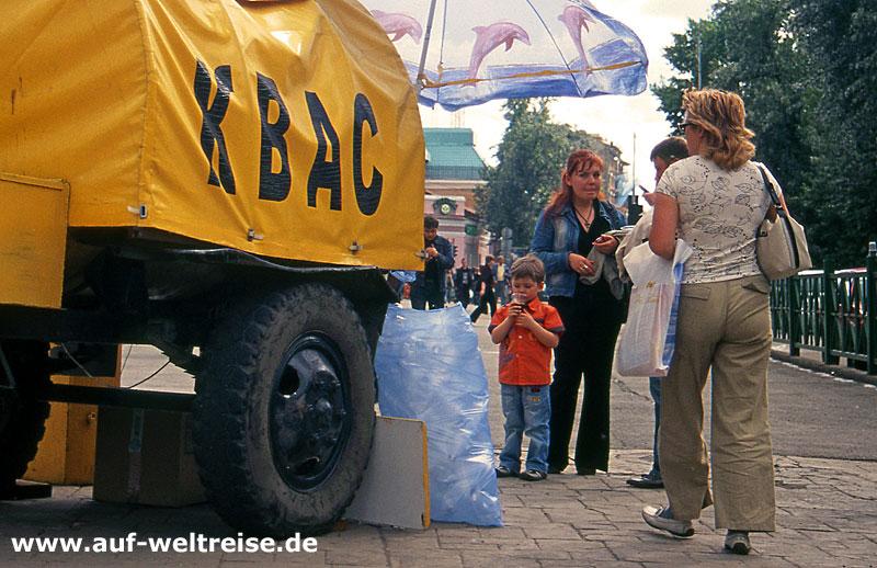 Russland Kwas-Wagen