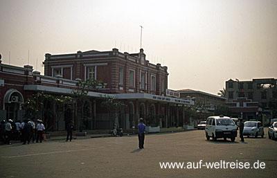 Eisenbahn, Vietnam, Bahn, Zug, Lok, Wagon, Natur, langsam, Südostasien, Asien, Hue, Bahnhof