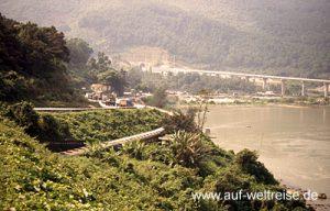 Eisenbahn, Vietnam, Bahn, Zug, Lok, Wagon, Natur, langsam, Südostasien, Asien