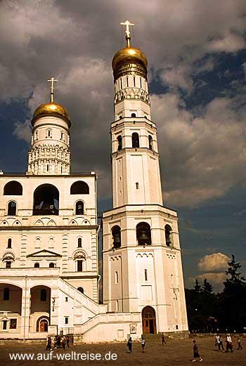 Russland, Moskau, Kreml, Turm, Bauwerk, historisch, russisch, orthodox, Bauwerk, Architektur, Zar, Glockenturm,Ivan der Große, Iwan der Große, lvan Velikij