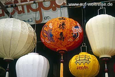 Vietnam, Lampions, Ho An, Zentralvietnam, Südchinesisches Meer, Museumsdorf, UNESCO, Südostasien, Seidenstraße, Boote, Fluss, historisch