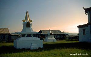 Russland Lamakloster Iwolginsk Stupa