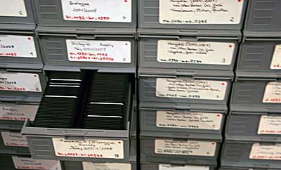 Dia Kasten Archivierung