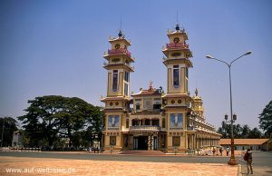 Vietnam - Cao Dai Tempel