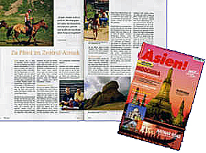 Zeitschrift, In Asien, Mongolei, Zentralasien, Asien, Südostasien