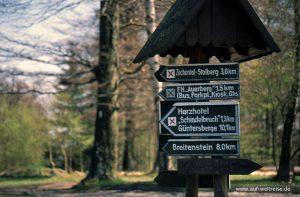Deutschland Harz Wanderweg