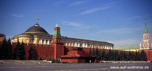 Russland, Moskau, Lenin Mausoleum, Kreml, Roter Platz,Basilius, Kathedrale, russisch, orthodox, Kirche, Platz, Spasskij Turm, Nacht, Himmel, blau
