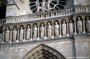 Frankreich, Kathedrale, Kirche, Notre.Dame, Notre Dame, glauben, Religion, Dom, Gotik, Architektur, Bauwerk, Kunst, Mittelalter, Paris, Europa, Nacht, Licht, blau