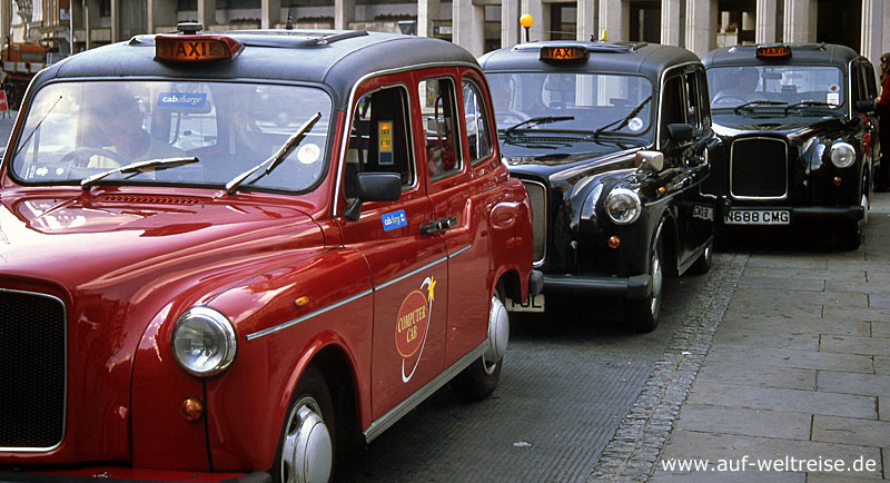 Großbritannien, Taxi, England, London, Verkehrsmitte, Europa