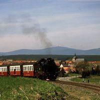 Harz, Brockenbahn, Zug, Bahn, Eisenbahn, Schmalspurbahn, Deutschland, Selketalbahn, Harzquerbahn, Dampflok, Wagon, Berge, Mittelgebirge