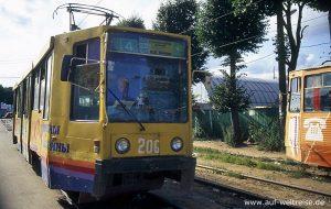Straßenbahn, Russland, Bahn, Zug, Russische Föderation, Verkehrsmittel, öffentlich, Zugfahrzeug