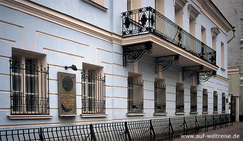 Russland, Haus, Puschkin, Dichter, russisch, Wohnhaus, Arbat