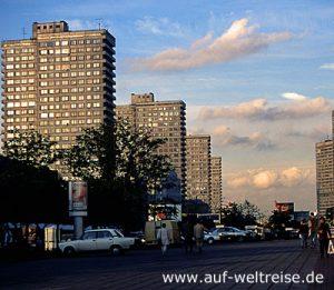 Russland, neuer, Arbat, Hochhäuser, Häuser, Wohnhaus, Bauwerk, Moskau
