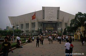 Vietnam, Hanoi, Ho, Chi, Minh, Museum, Architektur, Bauwerk, historisch, Geschichte, Südostasien, Asien