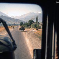 Kirgisien, Kirgistan, Kirgisistan, Zentralasien, Mittelasien, Hochland, Asien, Fahrzeug, Auto, LKW, Lastkraftwagen