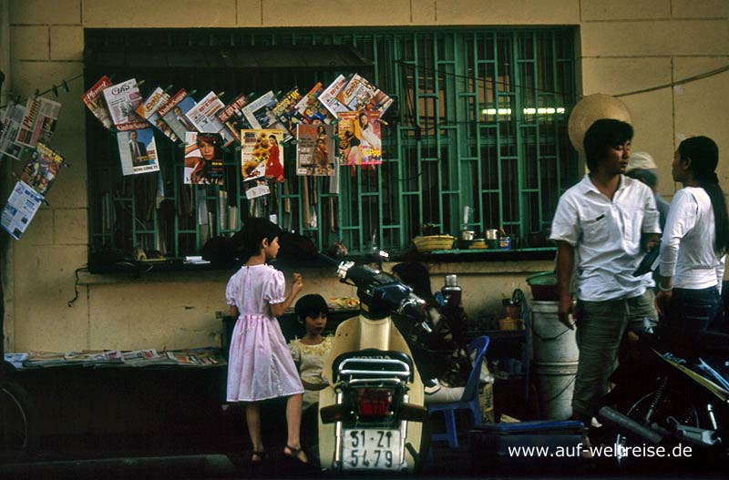 Vietnam, Saigon, amerikanisches Viertel, Backpacker Viertel