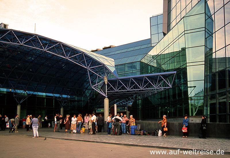 Russland, Samara, Europa, Asien, Bahnhof