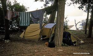 Zelt, Tunnelzelt, campen, Trekking, Outdoor, zelten, übernachten, Unterkunft