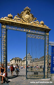 Frankreich, Versailles, Europa, Paris, Ile de France, Schloss, Garten, Park, Bauwerk, Architektur
