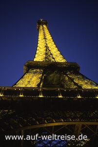 Frankreich, Paris, Eiffelturm, Europa, Hauptstadt, tour Eiffel, Bauwerk, Architektur, Eisenkonstruktion