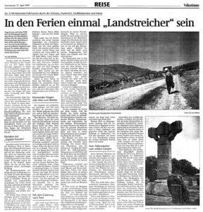 Magdeburger Volksstimme In den Ferien einmal »Landstreicher« sein